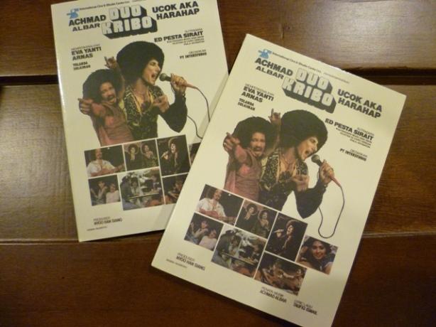 Poster Film Duo Kribo tahun 1978 (Foto Kineforum)