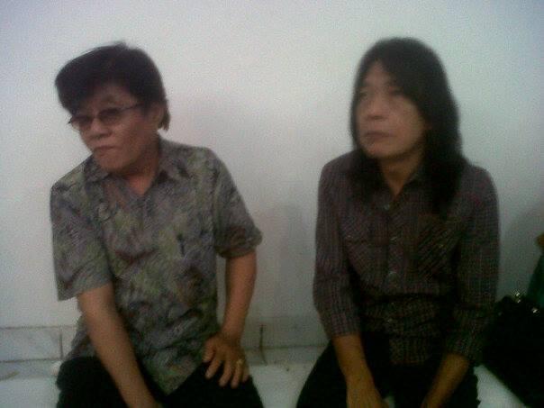 Theodore KS dan Ian Antono (Foto Denny Sakrie)