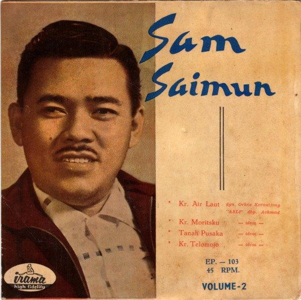 Setelah menjadi juara Bintang Radio,penyanyi Sam Saimun mendapat tawaran rekaman
